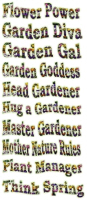 Click for Garden Titles and Phrases