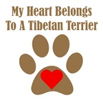My Heart Belongs To A Tibetan Terrier