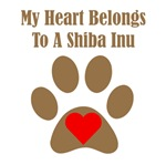 My Heart Belongs To A Shiba Inu