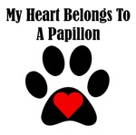 My Heart Belongs To A Papillon