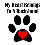 My Heart Belongs To A Dachshund