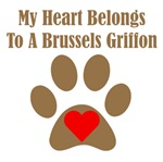 My Heart Belongs To A Brussels Griffon