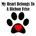 My Heart Belongs To A Bichon Frise