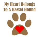 My Heart Belongs To A Basset Hound