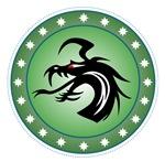 Green Round Dragon Icon