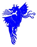 Blue Flying Dragon
