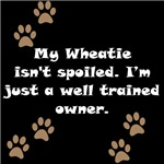 Well Trained Wheatie Owner