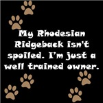 Well Trained Rhodesian Ridgeback Owner