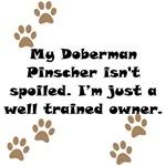 Well Trained Doberman Pinscher Owner