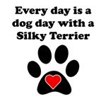 Silky Terrier Dog Day