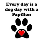 Papillon Dog Day