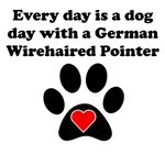 German Wirehaired Pointer Dog Day
