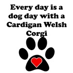 Cardigan Welsh Corgi Dog Day