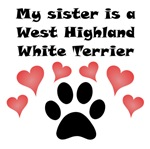 My Sister Is A West Highland White Terrier