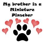 My Brother Is A Miniature Pinscher