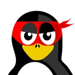 Superhero Penguin