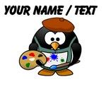 Custom Painter Penguin