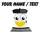 Custom Mime Penguin