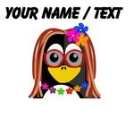 Custom Hippie Penguin