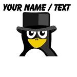 Custom Top Hat Penguin