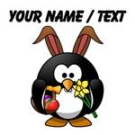 Custom Easter Bunny Penguin