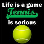 Tennis Is Serious