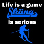 Skiing Is Serious