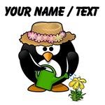 Custom Gardener Penguin