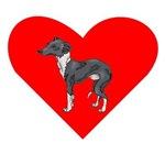 Italian Greyhound Heart