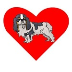 Cavalier King Charles Spaniel Heart