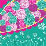 Vibrant Flower Pattern