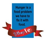 Hunger is a food problem we have to fix it with fo