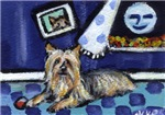 SILKY Terrier art items