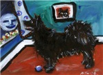 SWEDISH LAPPHUND whimsical dog art