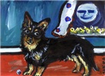 Lancaster Heeler whimsical dog art