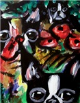 Boston Terrier Abstract