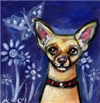New! Dog eyes butterfly collection