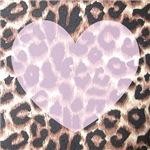 Leopard Print Pink Heart