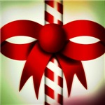 Happy Holidays Candy Cane