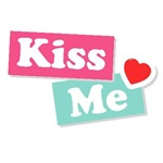 Kiss Me Sign Love