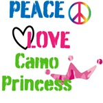 Peace, Love and Camo Princess