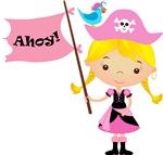 Pink Pirate Girl