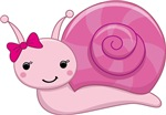 Pink Baby Snail