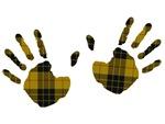 Tartan Handprints
