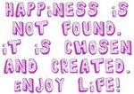 Happiness Journey Enjoy Life! Design