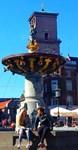 Under The Golden Fountain, Photo / Digital Paintin