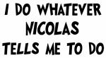 Whatever Nicolas says