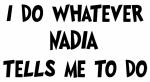 Whatever Nadia says