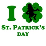 I Heart St Patricks Day