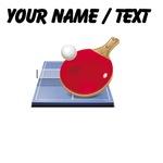 Custom Table Tennis Icon